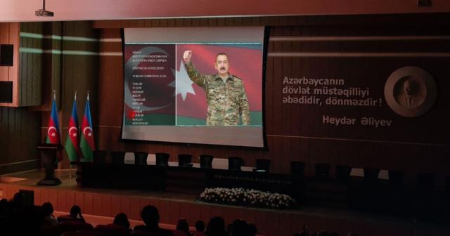 """""""Dəmir Yumruq"""" filmi Suraxanı RİH-də nümayiş olunub"""