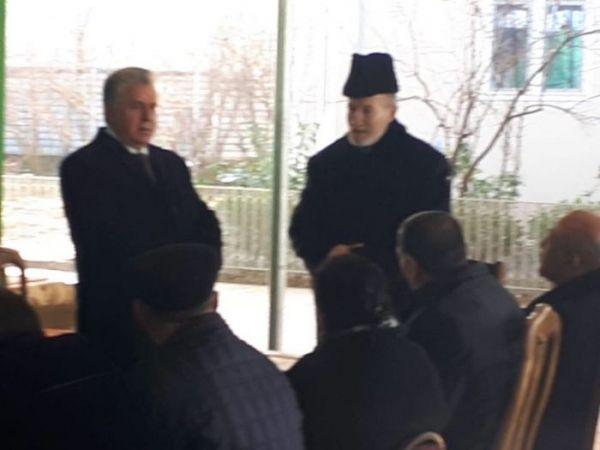Fəzail İbrahimli Mübariz İbrahimovun ailəsindən xeyir-dua aldı